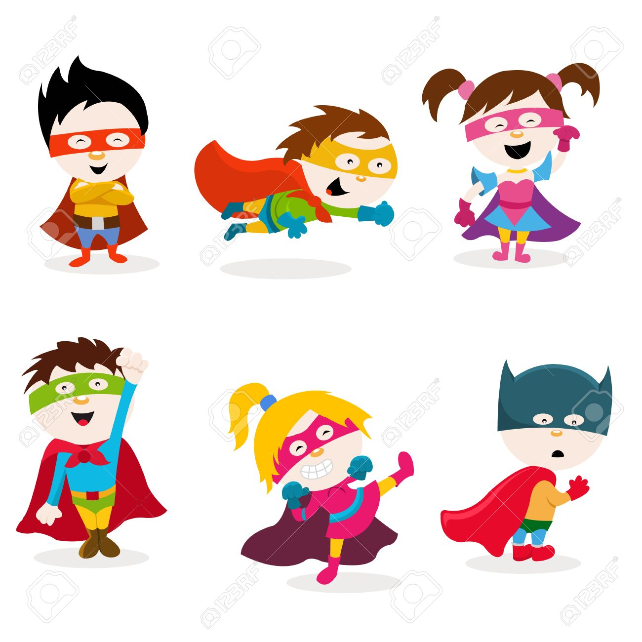 Super Kids Royalty Free Cliparts, Vectors, And Stock Illustration ...