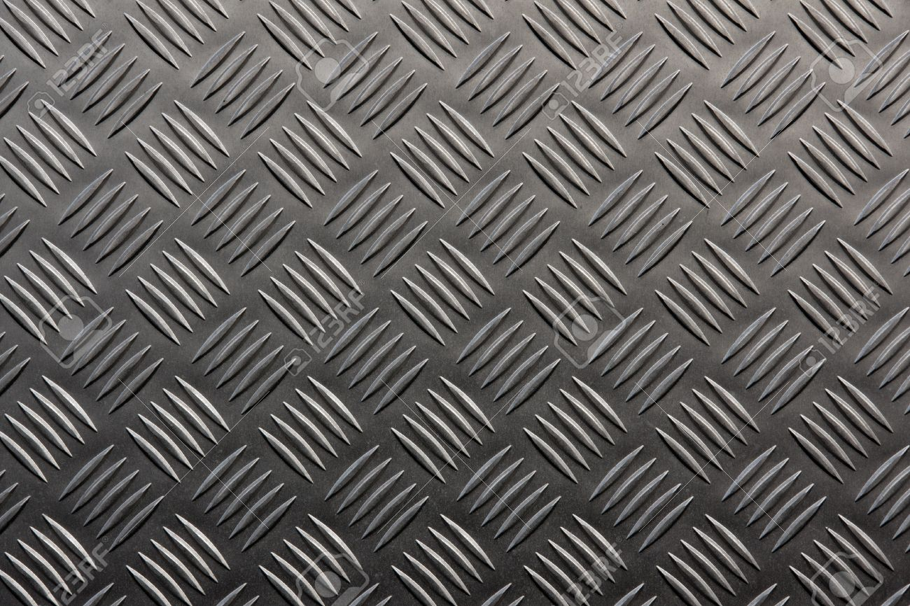 Background of metal with repetitive patten Stock Photo - 9238447