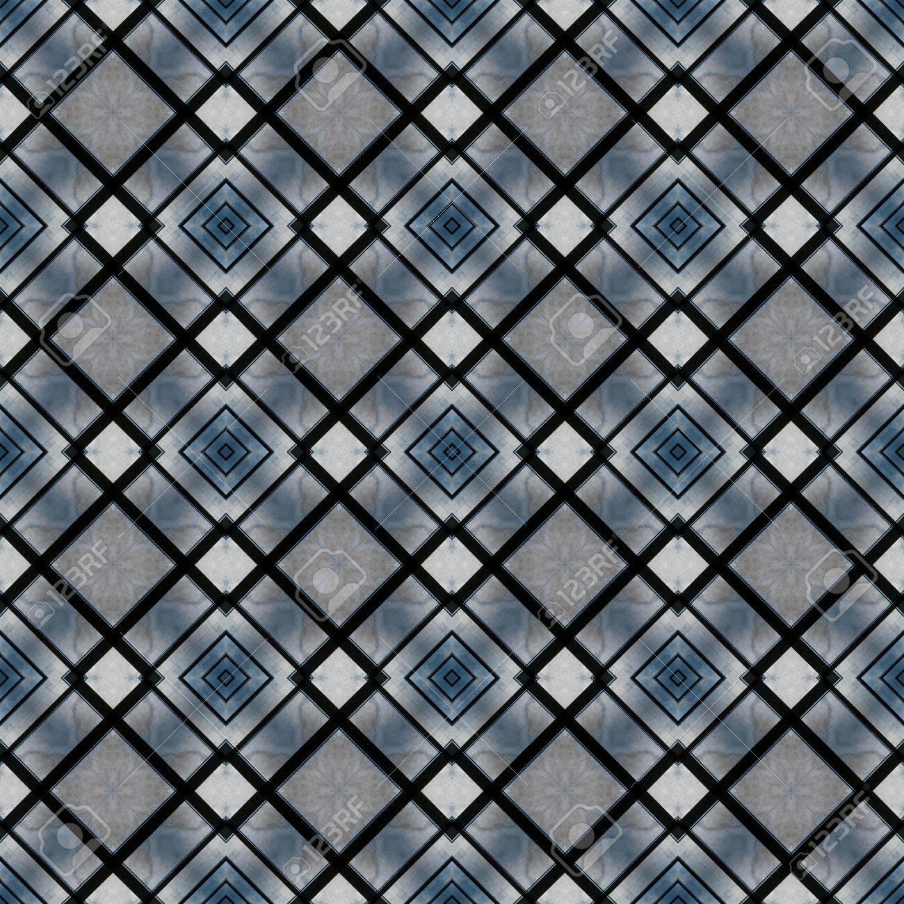 Résumé Motif Géométrique Dans Les Tons De Bleu Avec Un Sentiment De Marbre Peut être Utilisé Comme Fond D écran
