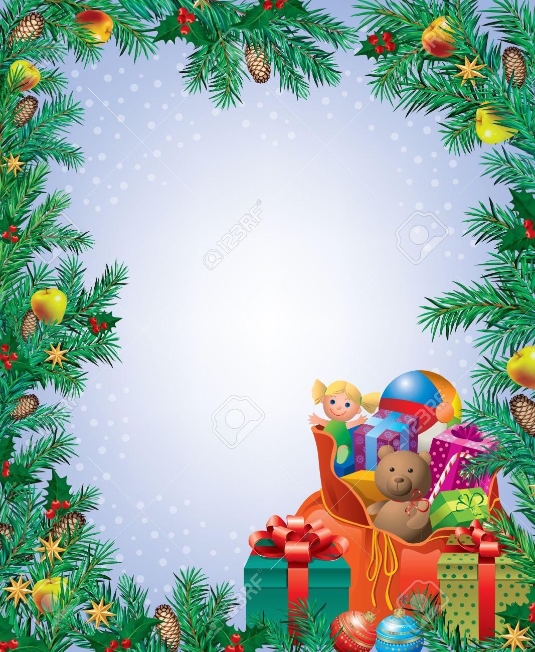 Vertical Christmas Frame
