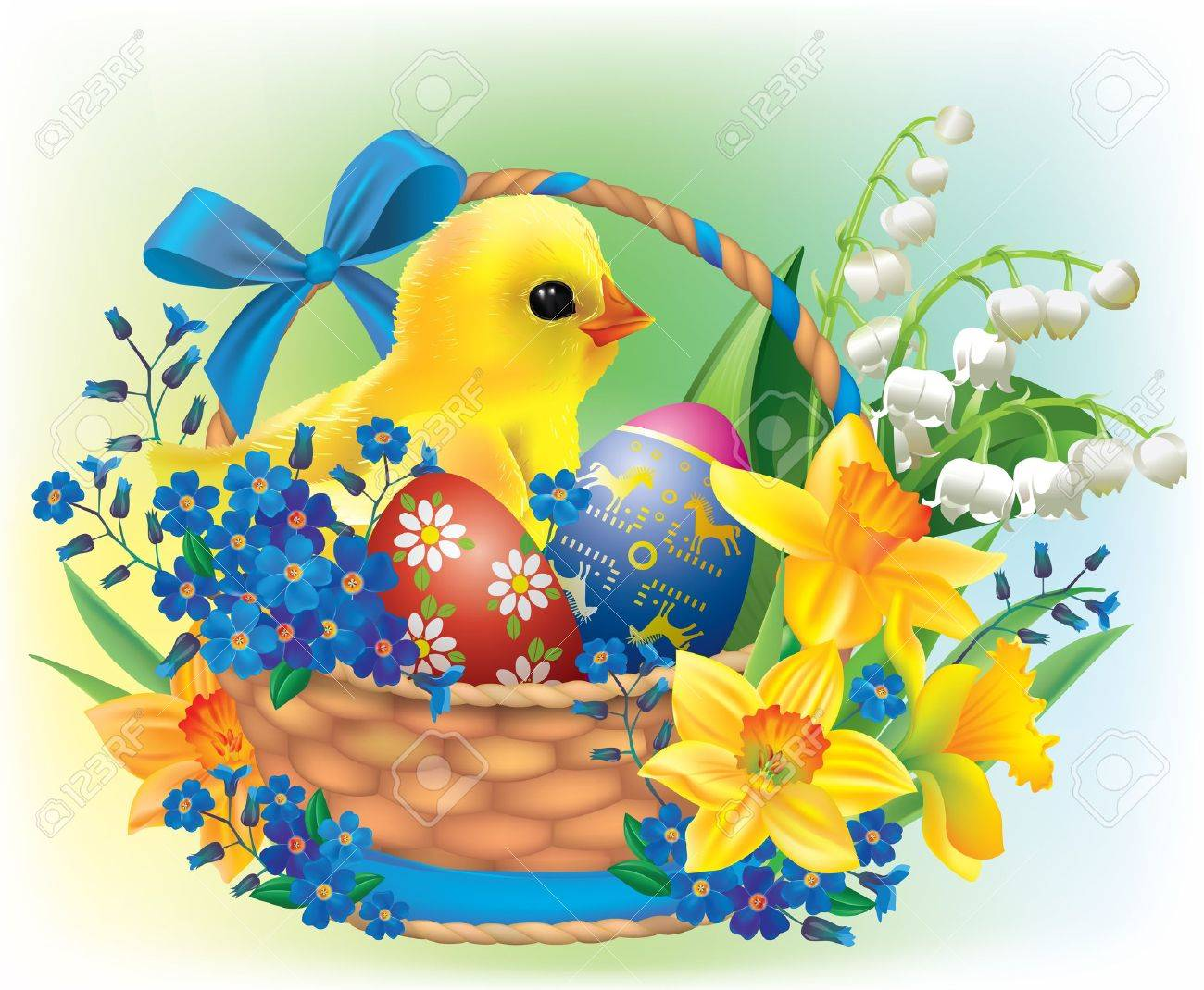 14 815 easter basket cliparts stock vector and royalty free