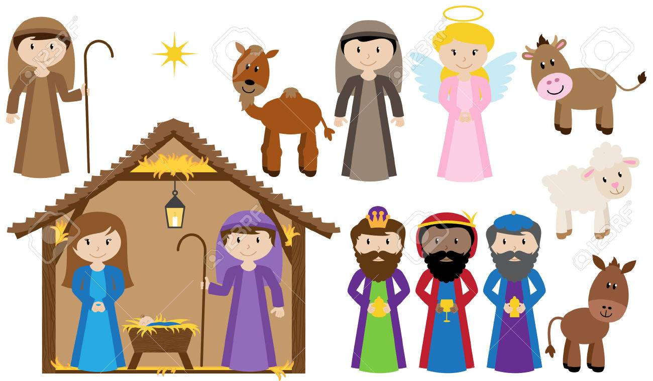 Vector Nativity Collection - 29966245