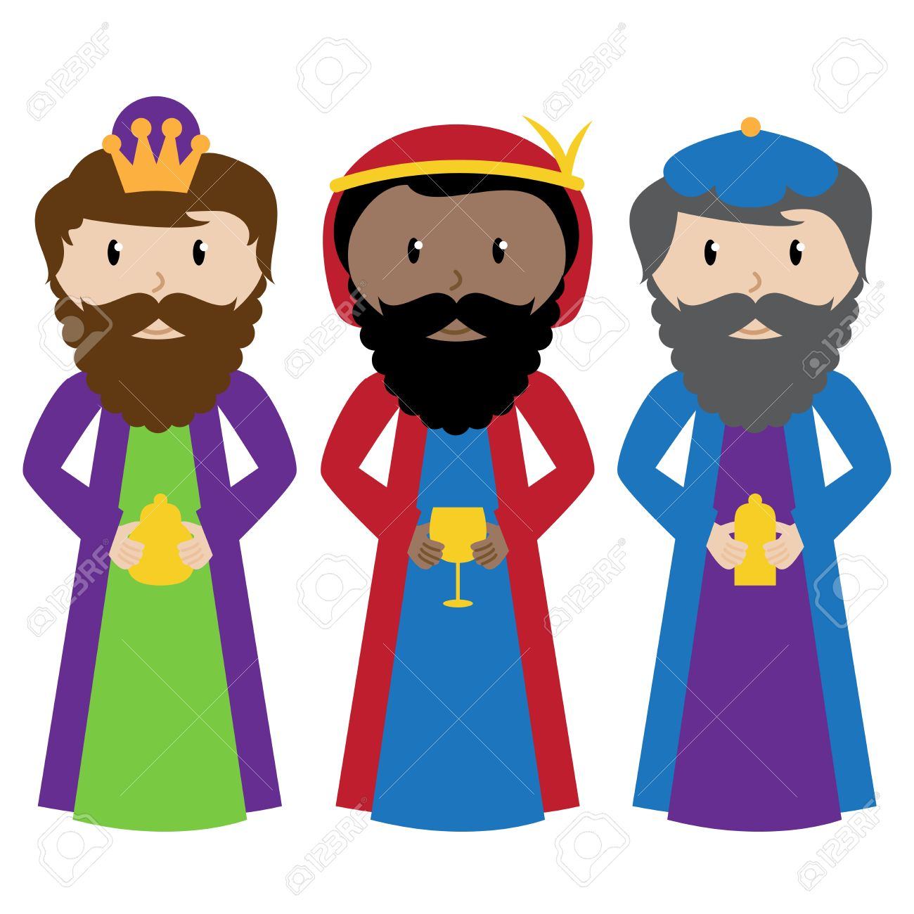 vector collection of the three wise men or magi royalty free rh 123rf com three wise men clip art black and white three wise men clip art black and white