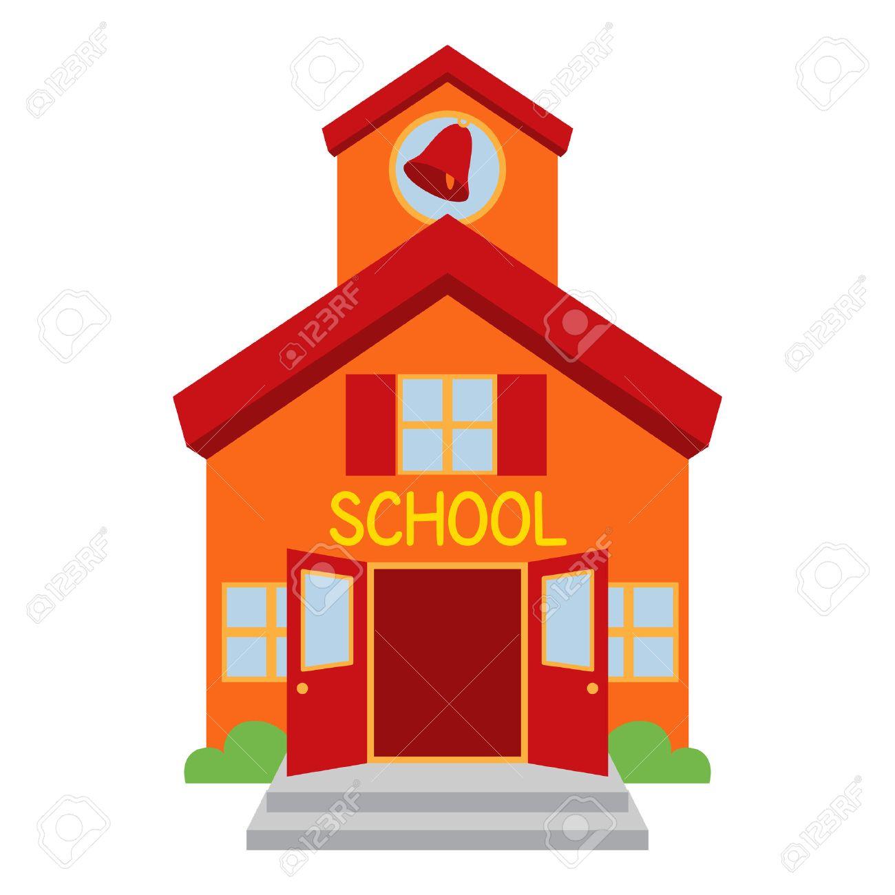 vector school building royalty free cliparts vectors and stock rh 123rf com school vector icon school vector background