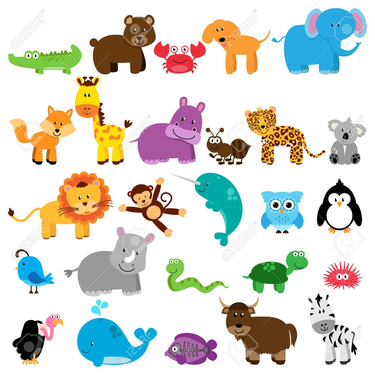 Vector Collection of Animals - 40603595