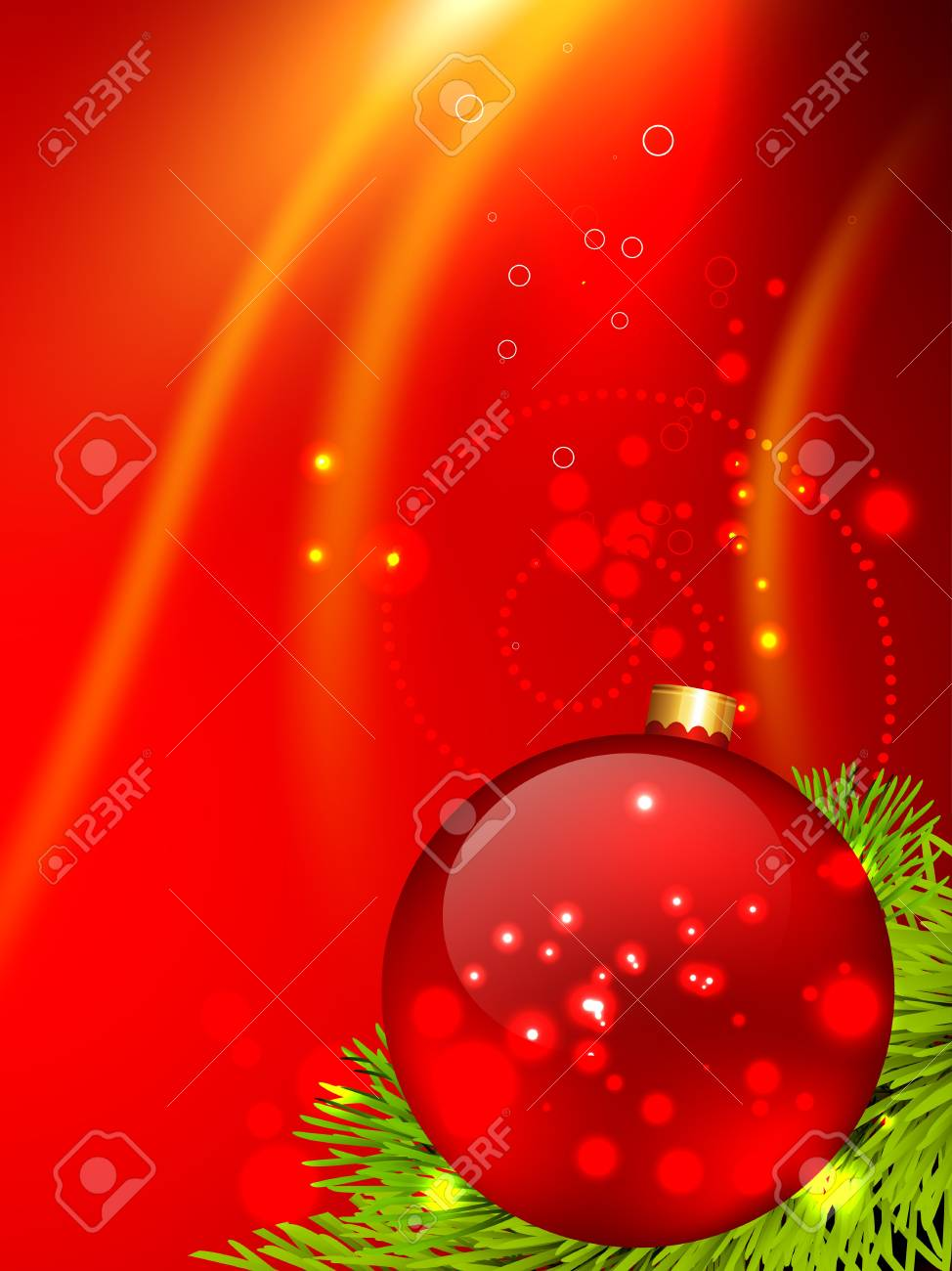 Beautiful Christmas Background Design.Beautiful Christmas Background Design With Space For Your Text