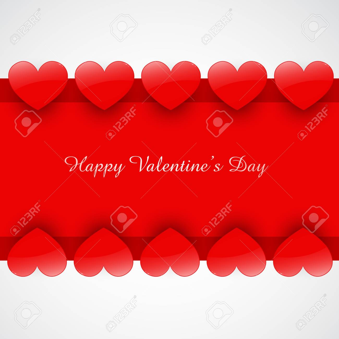 stylish shiny heart background with space for your text Stock Vector - 17727669