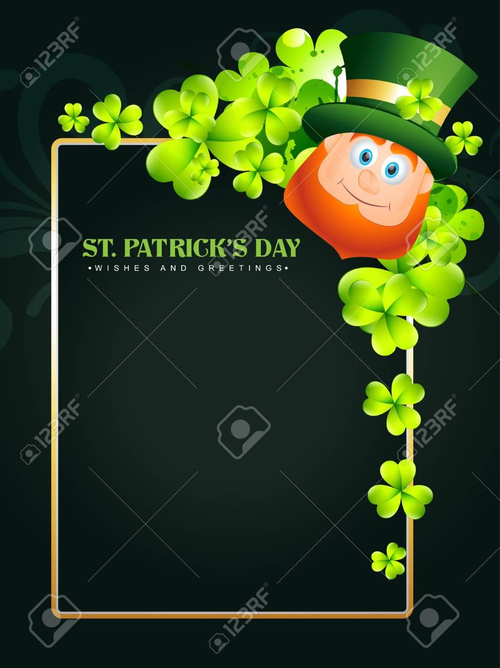 happy saint patricks day vector design Stock Vector - 17988108
