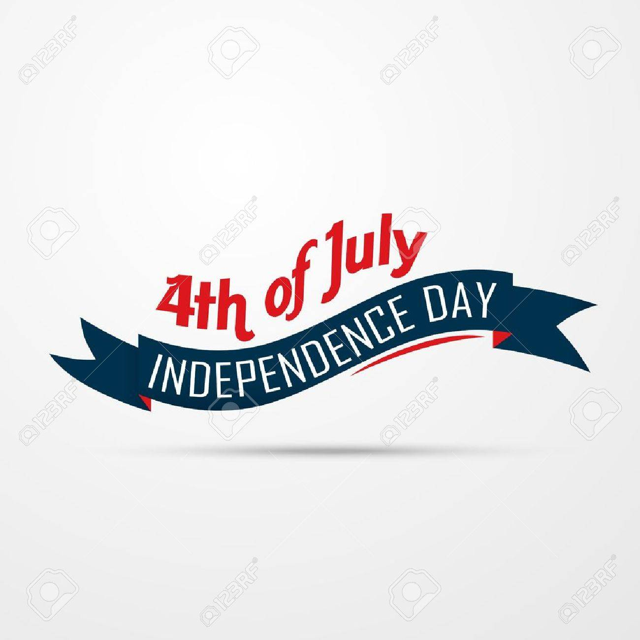 stylish american independence day design Stock Vector - 19968853