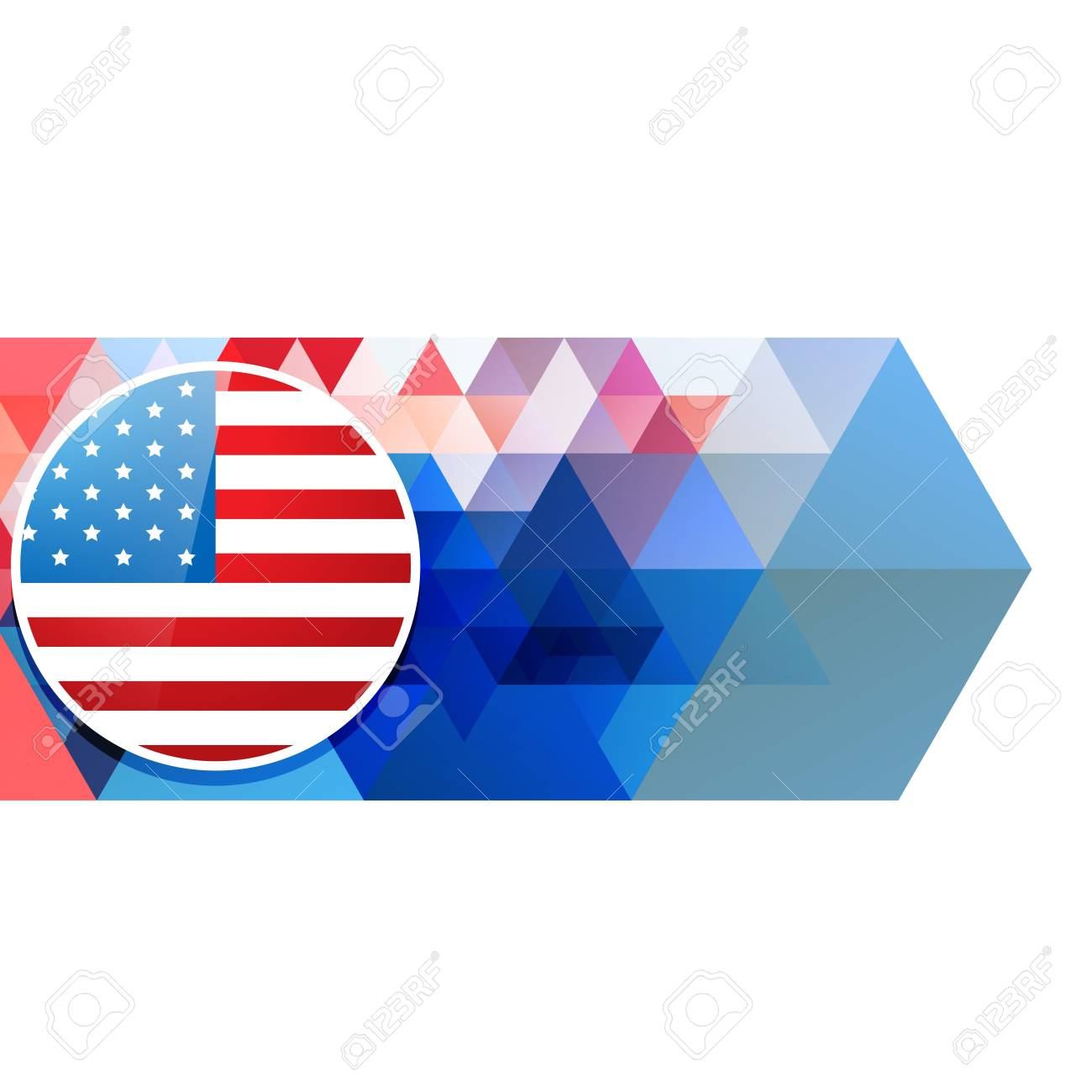 american independence day vector design Stock Vector - 19979009