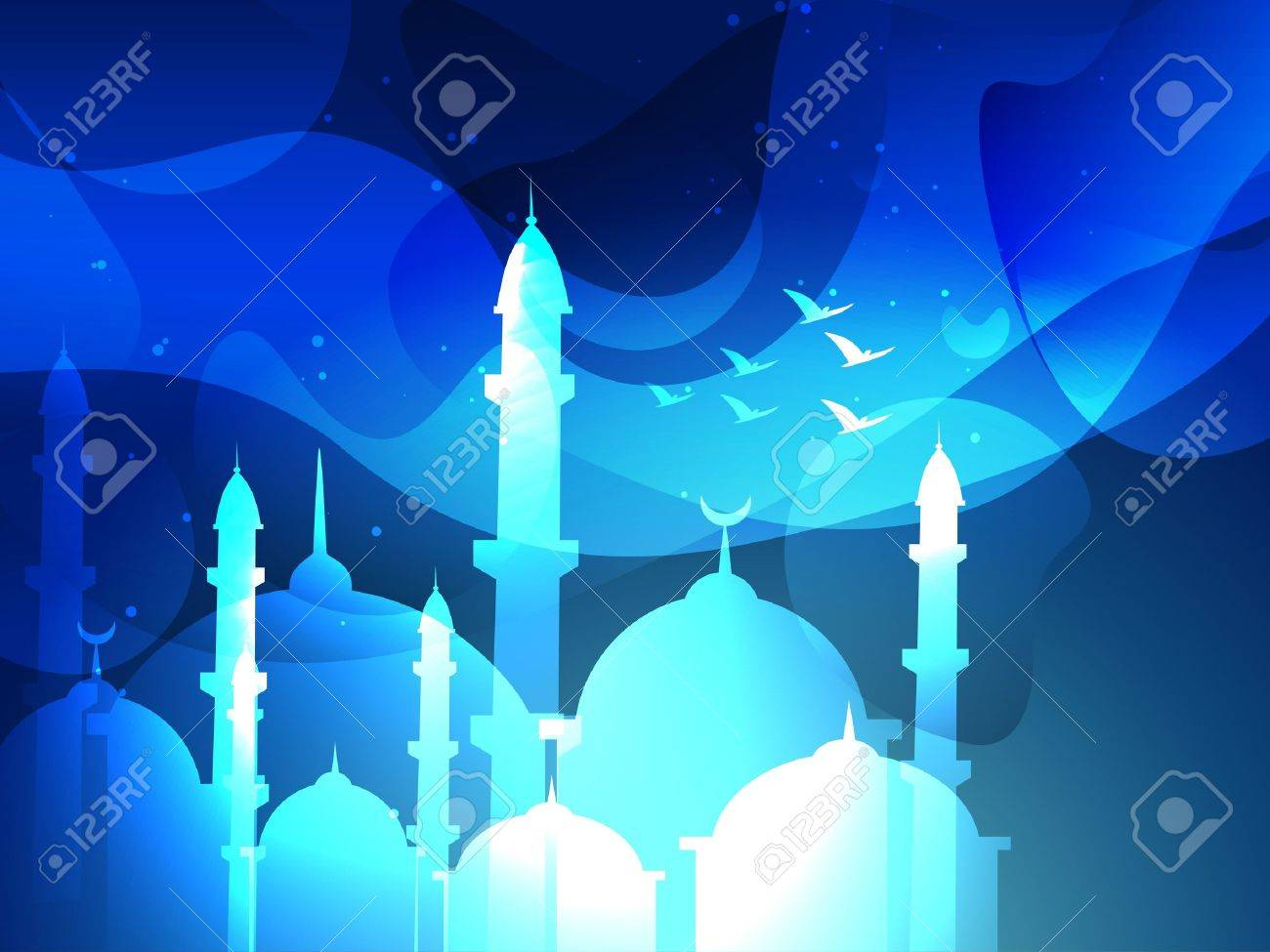 vector eid festival islamic background Stock Vector - 20548676