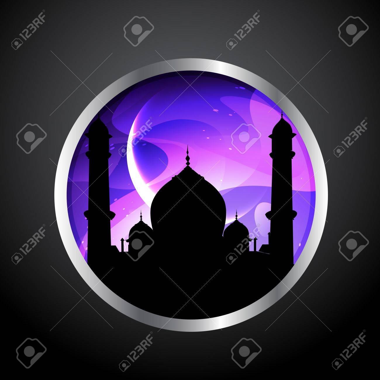 vector ramadan kareem label design Stock Vector - 20531143