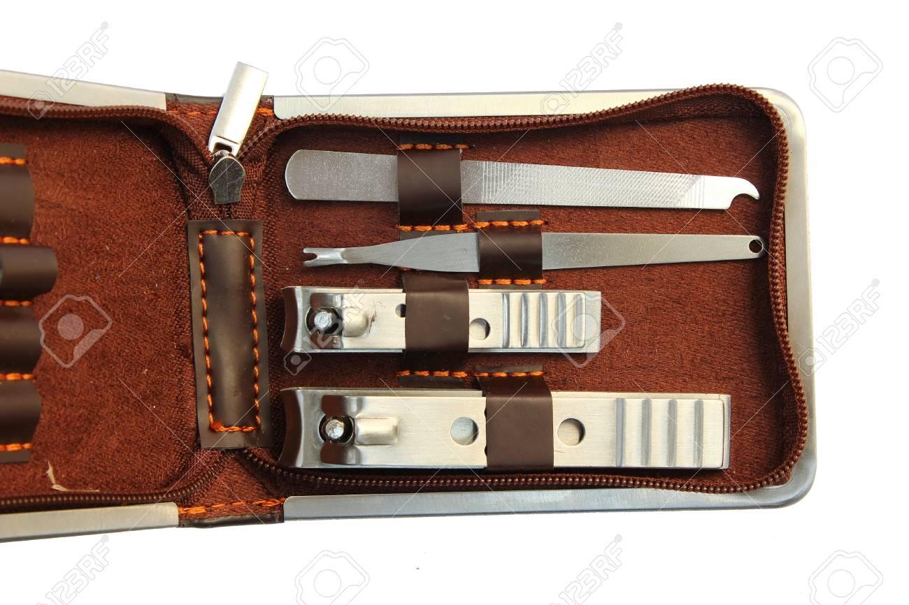 Manicure kit bag Stock Photo - 16757186