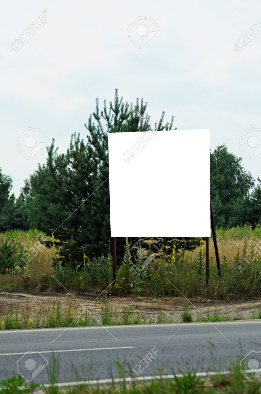 Photo of ad billboard in a city Stock Photo - 21457478