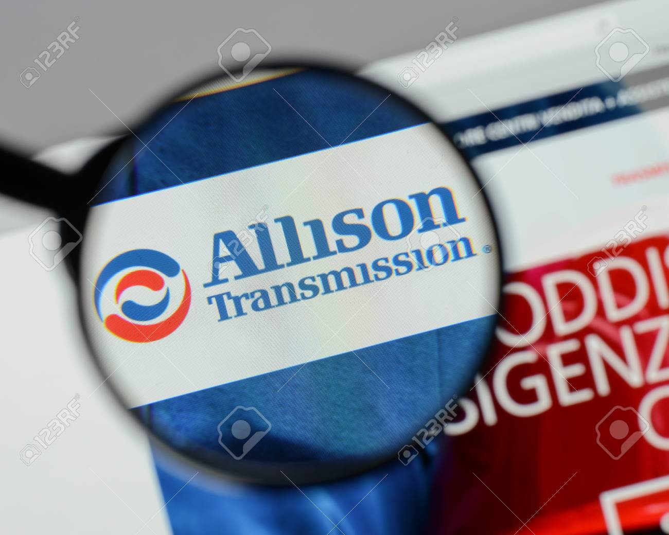 Milan Italy August 10 2017 Allison Transmission Holdings Stock Photo Picture And Royalty Free Image Image 93351343