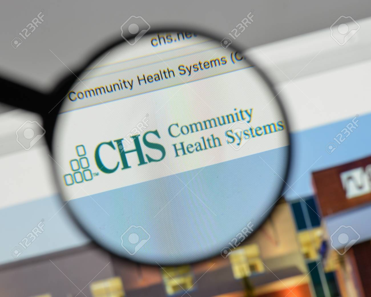 Image result for community health systems stock