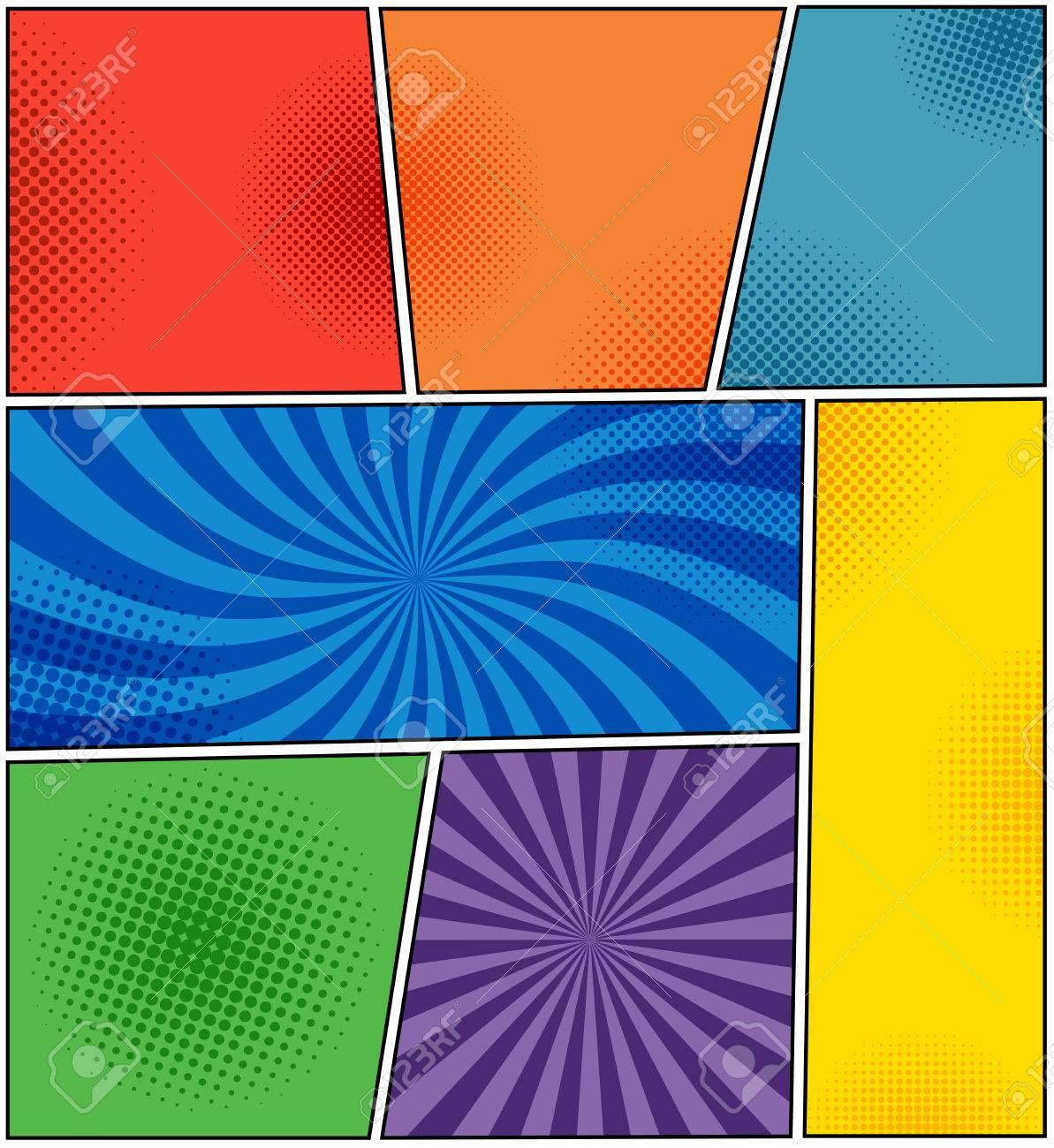Roja naranja violeta bandera y verde amarilla azul