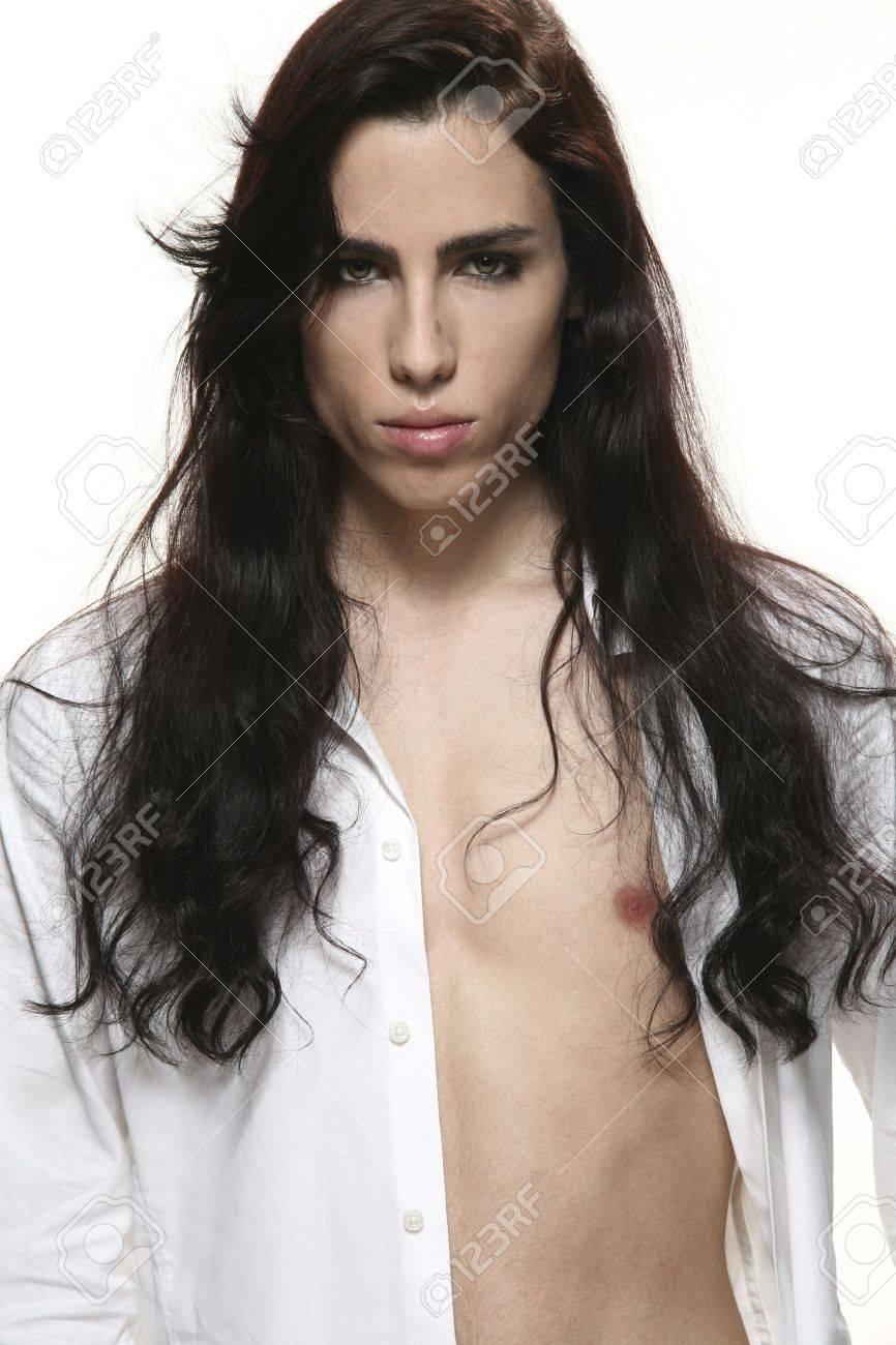 androgynous men Stock Photo - 3967243