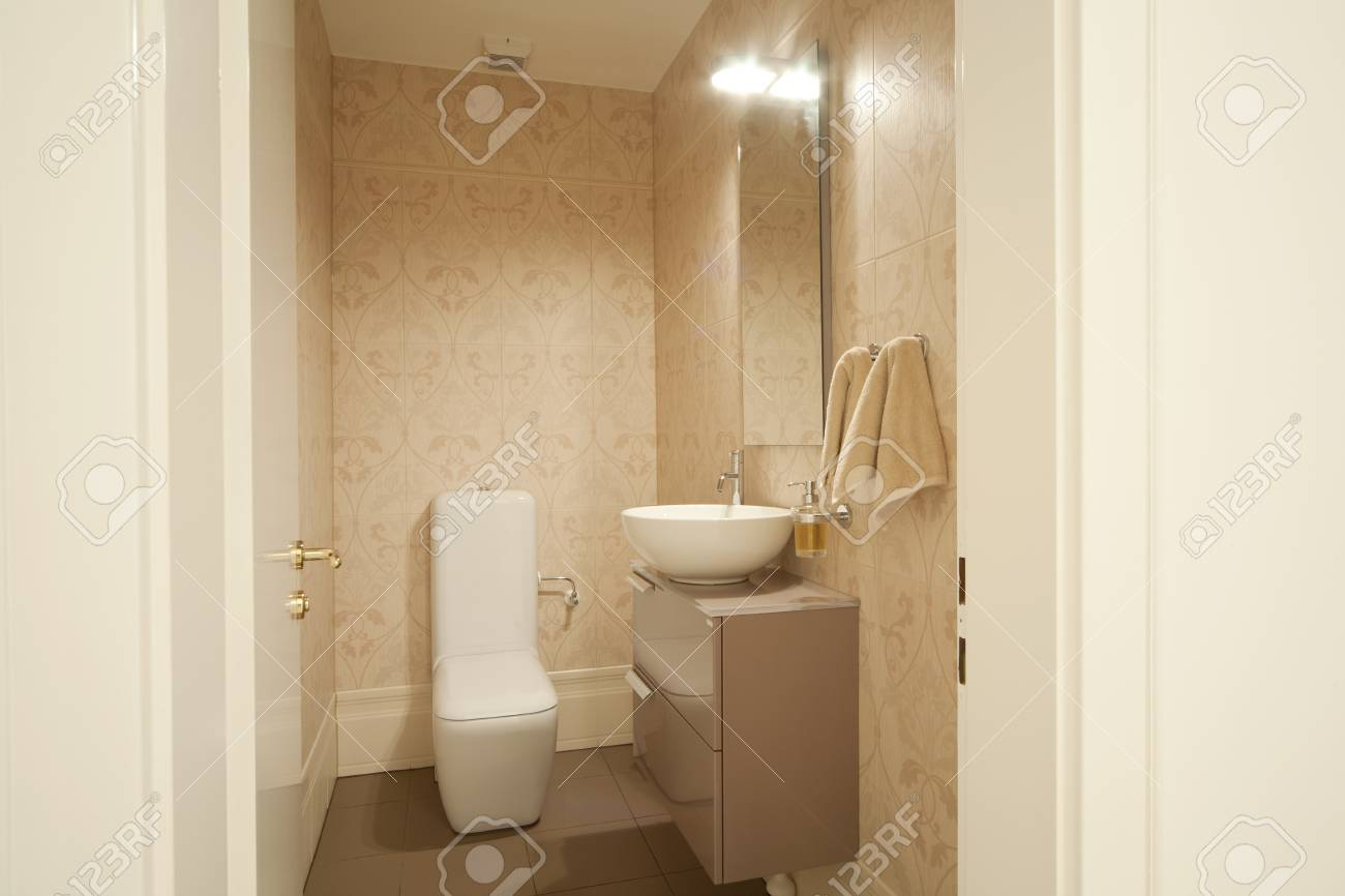 Interior Modern Wc Stock Photo, Picture And Royalty Free Image ...