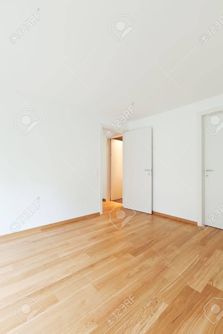 Empty Apartments Inside interior modern empty flat, apartment nobody inside stock photo