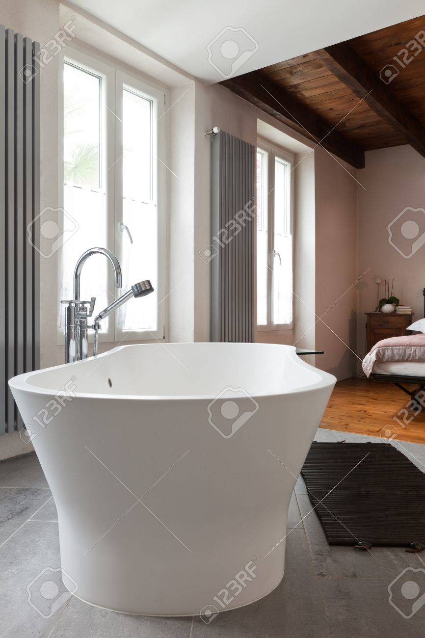 interior of beauty house, bathroom Stock Photo - 20177296