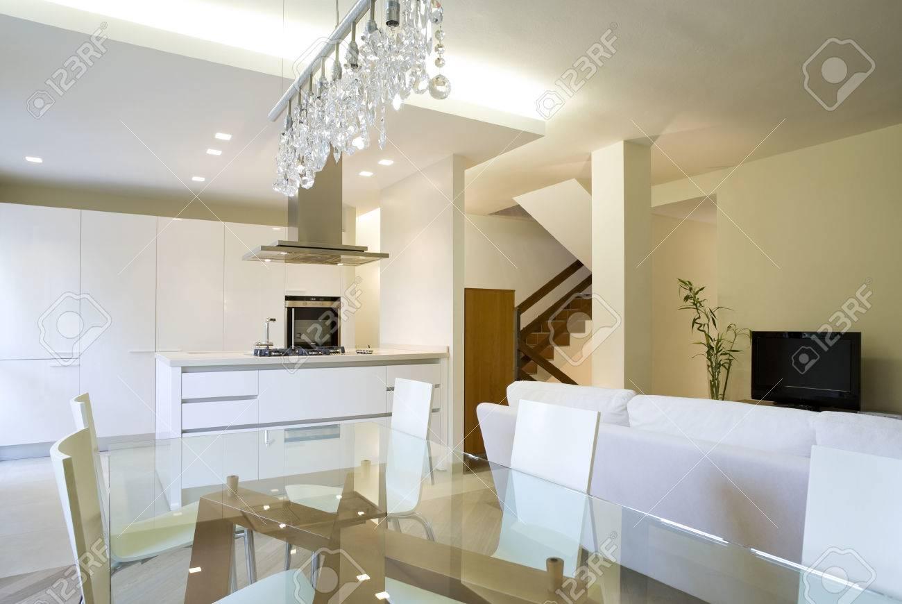 New interior design apartment, living room Stock Photo - 24258711