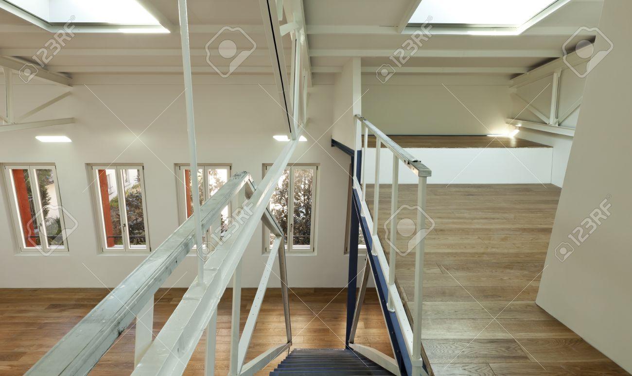 modern designer, apartment with mezzanine Stock Photo - 24495650