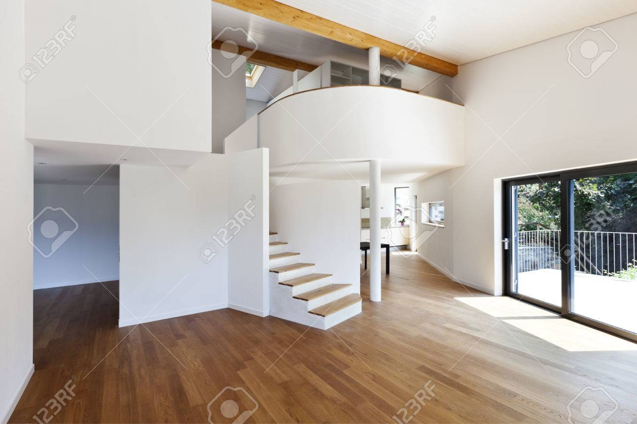interior modern house large open space stock photo picture and