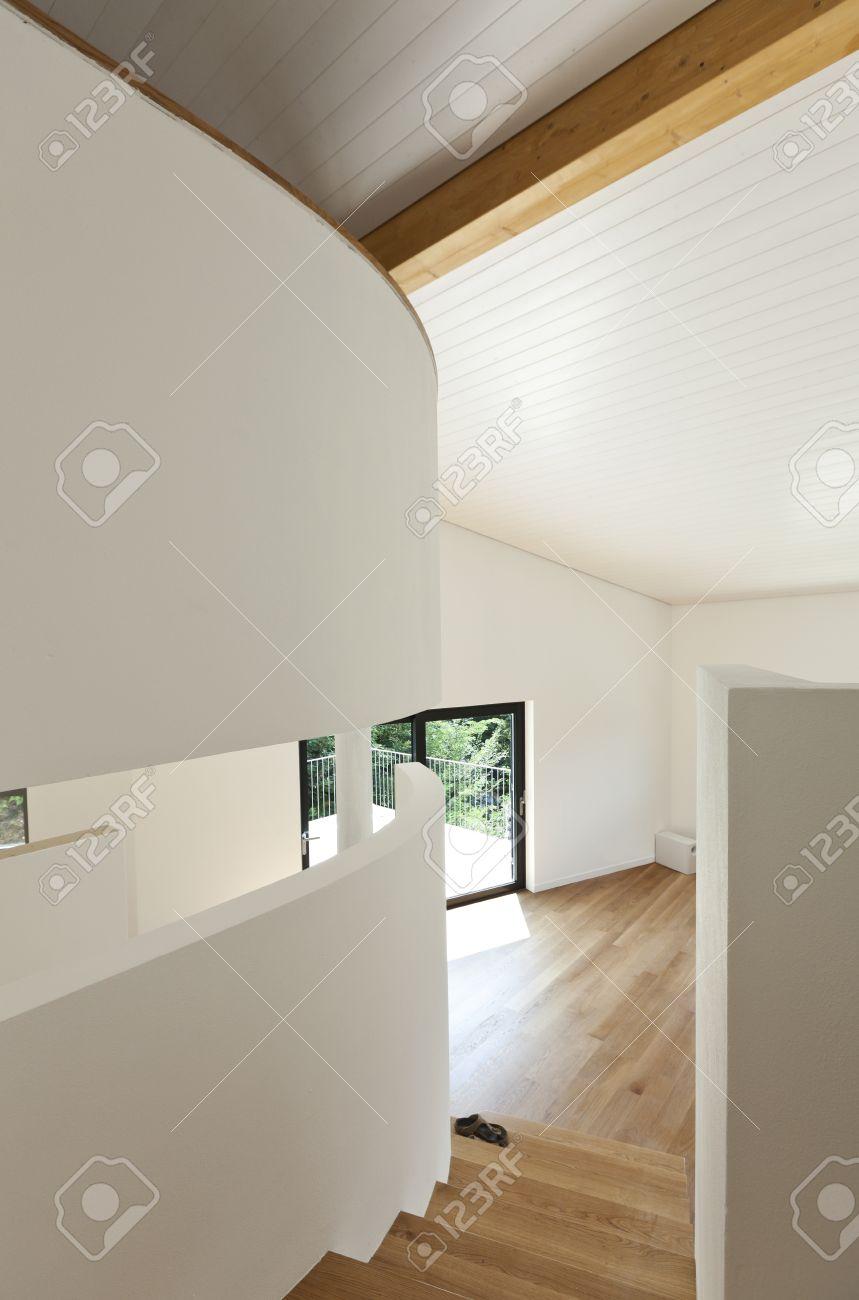 Innen Modernes Haus Treppenhaus Lizenzfreie Fotos Bilder Und Stock