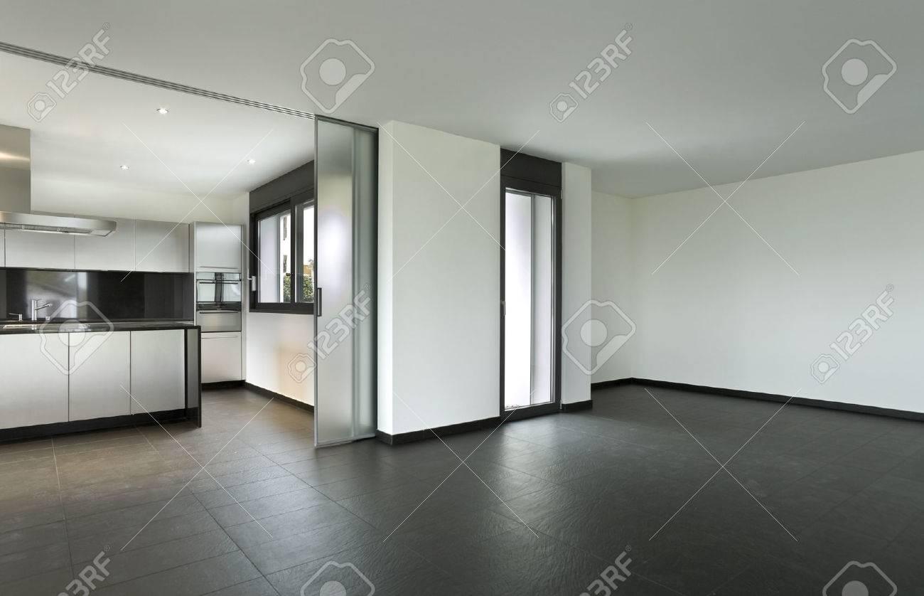 Intérieur maison moderne, living