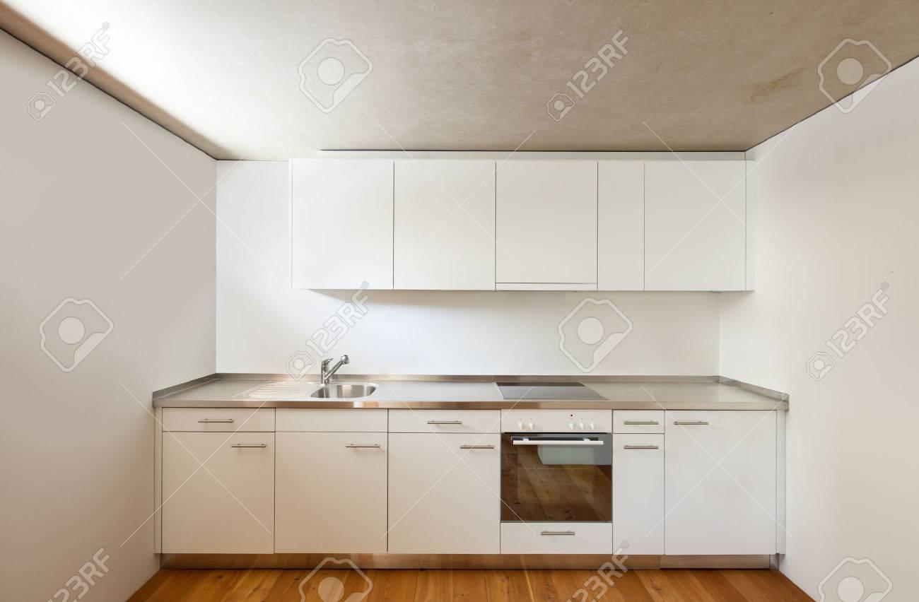 Architecture Modern Design, Home, View Kitchen Stock Photo, Picture ...