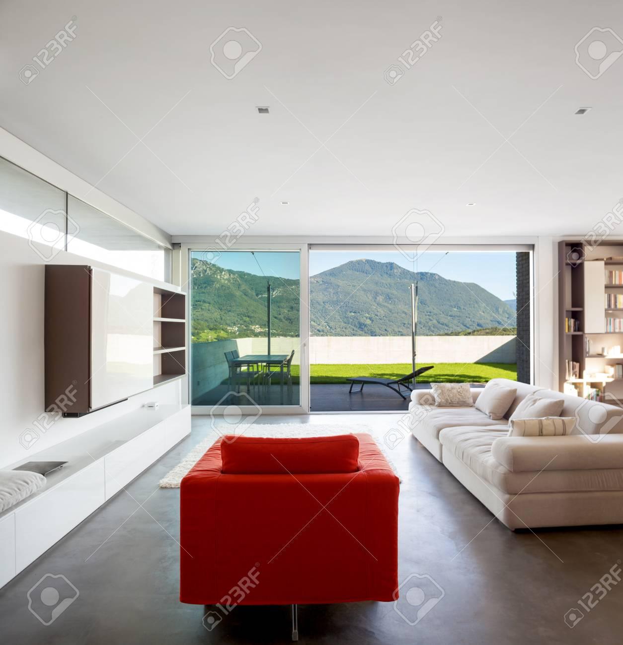 Design D Interieur Appartement Moderne Salon Banque D Images Et Photos Libres De Droits Image 31647334