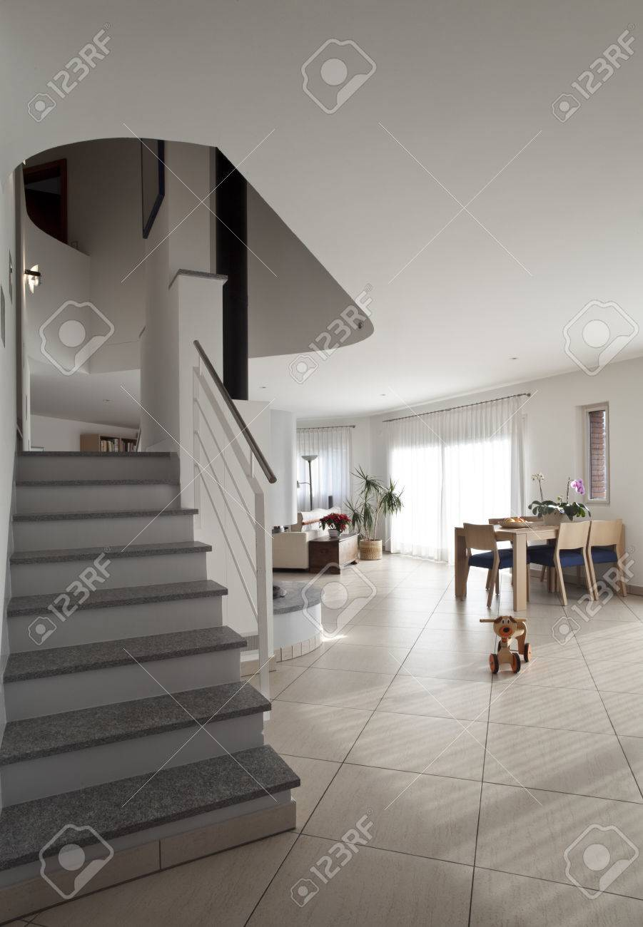 absolutely nicking lighting idea. absolutely nicking lighting idea stock photo interior apartment with stairs