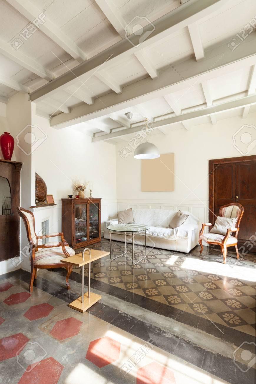 . comfortable living room  interior of a nice loft