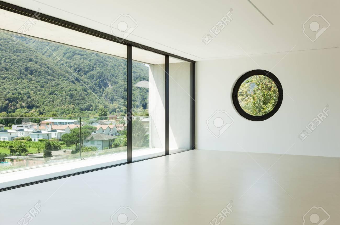 maison, intérieur, l'architecture moderne, grande chambre, vue de la