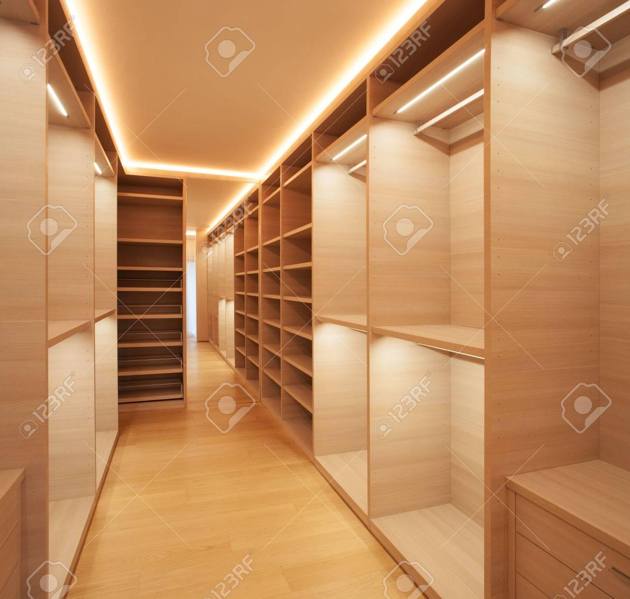 empty walk in closet. Delighful Closet Interior Modern House Empty Walkin Closet Stock Photo  34011076 Inside Empty Walk In Closet P