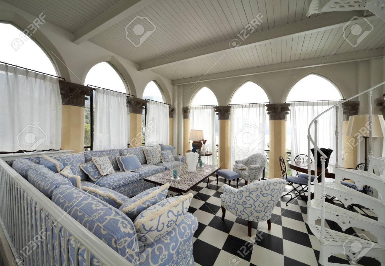 Immagini Stock - Arredamento Casa, Soggiorno Interno Image 34264587.