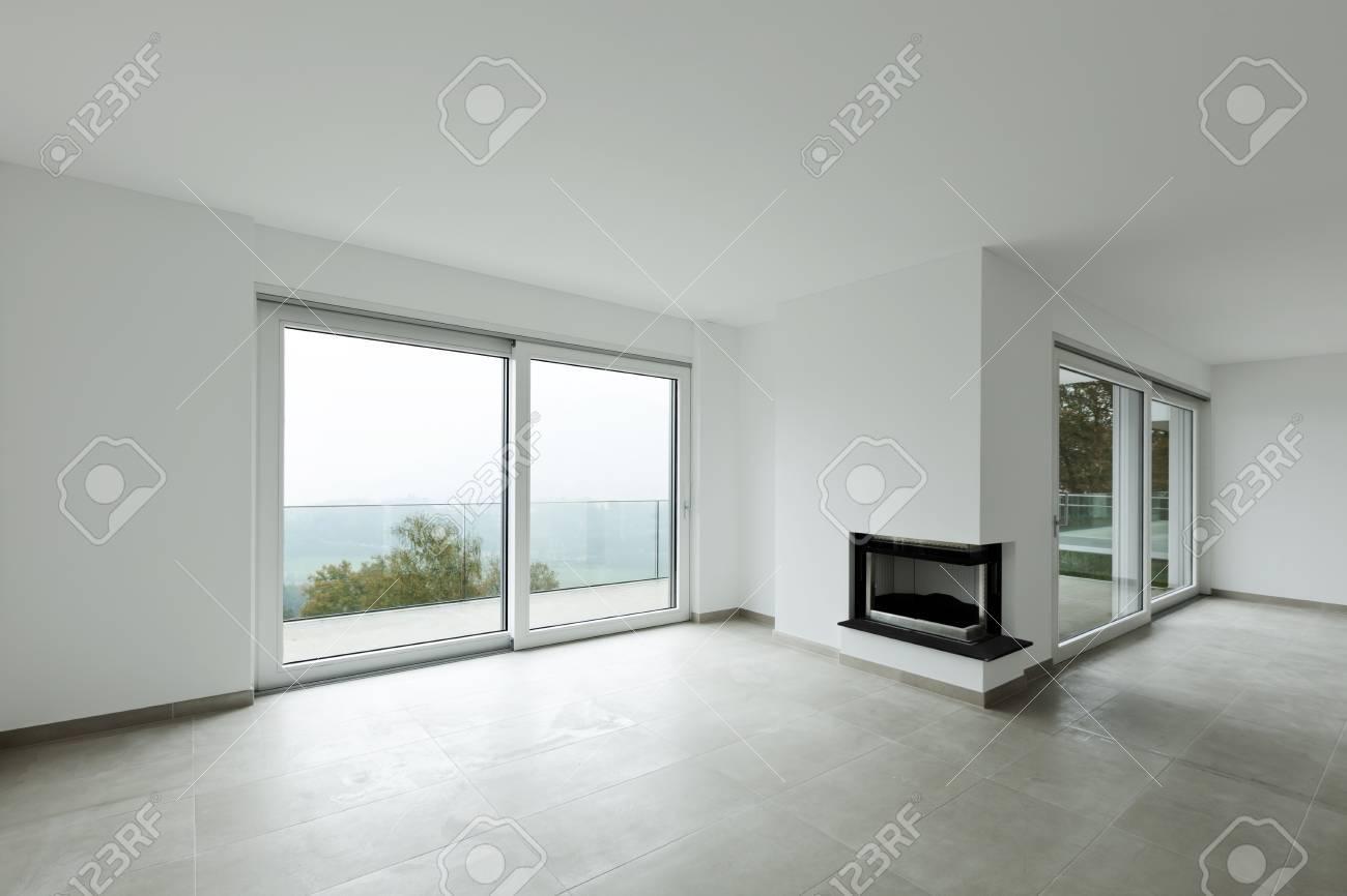 Neue Wohnung Wohnzimmer Gross Lizenzfreie Fotos Bilder Und Stock