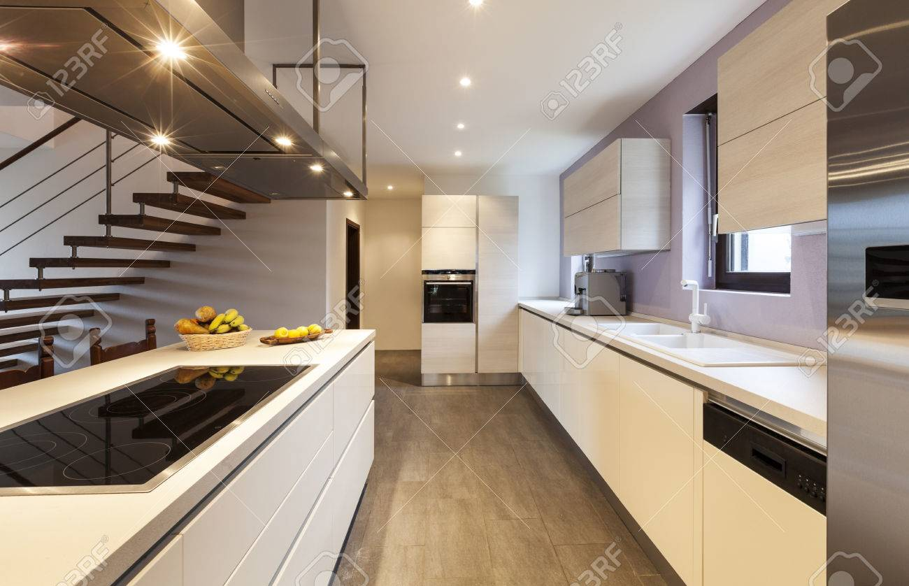Nice Modern Loft View Of The Kitchen Stock Photo Picture And Royalty Free Image Image 36195312