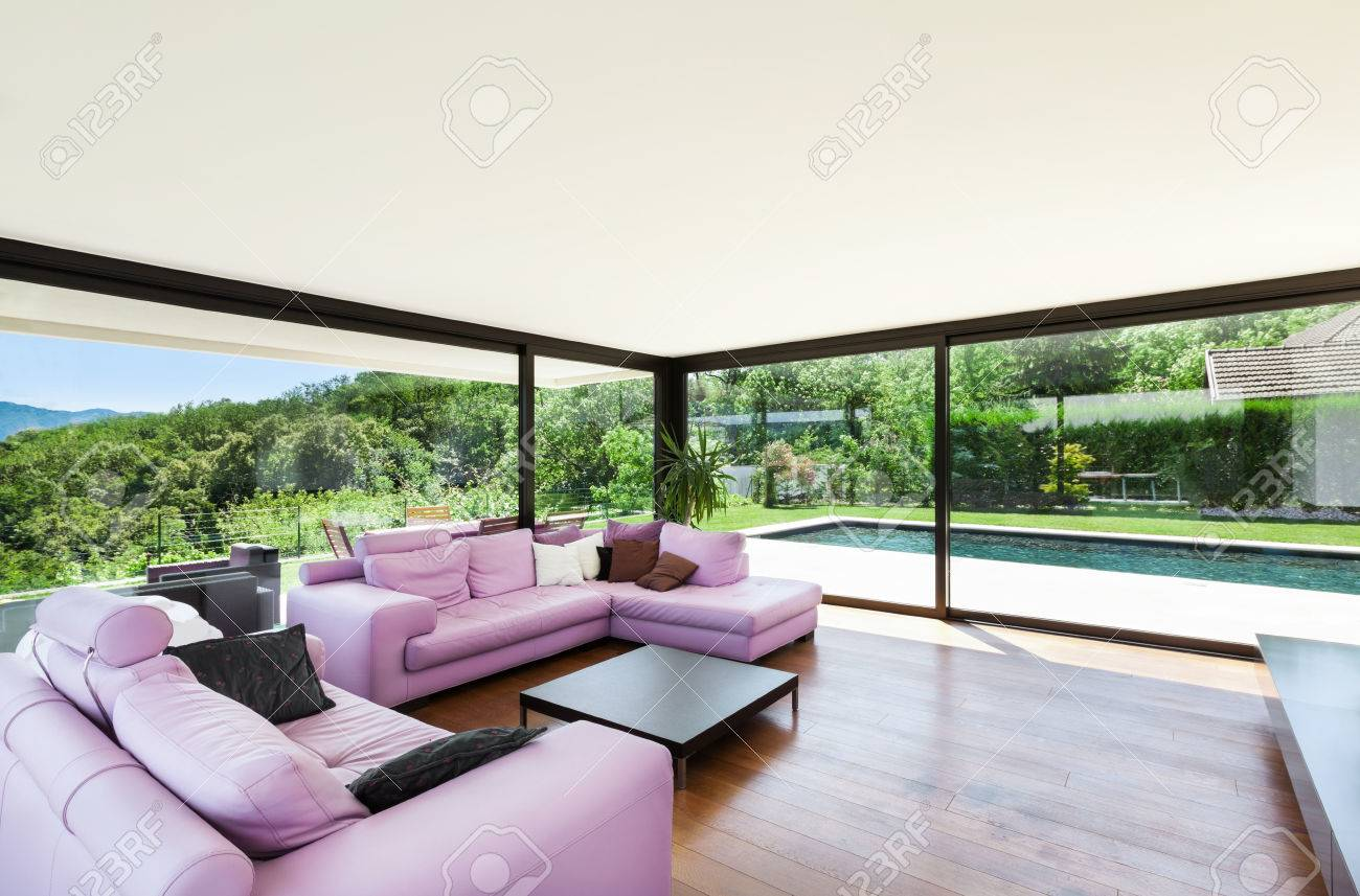 Beautiful Interieur Villa Moderne Photos - Awesome Interior Home ...