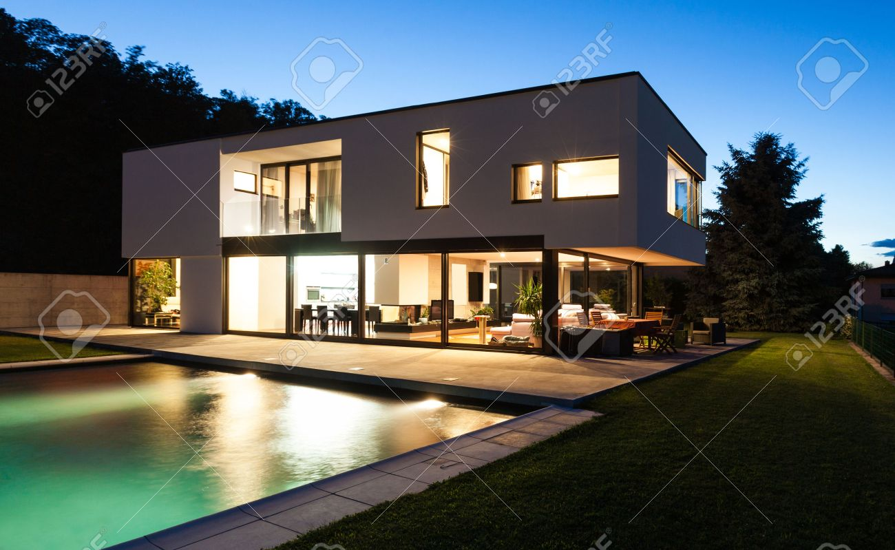 Modern House Images Stock Pictures Royalty Free Modern House