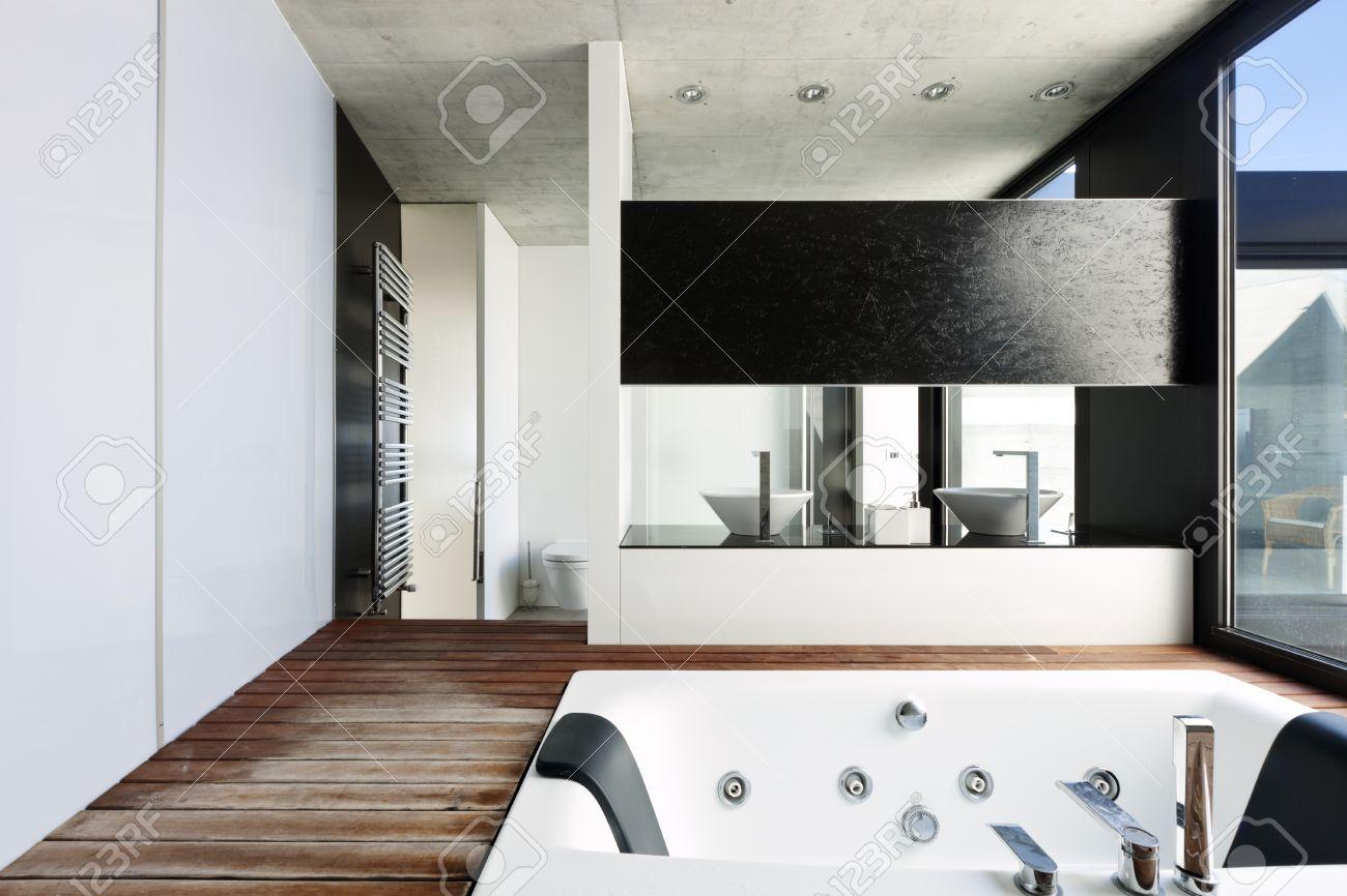 Interieur maison moderne salle de bain salle de bain en bois id