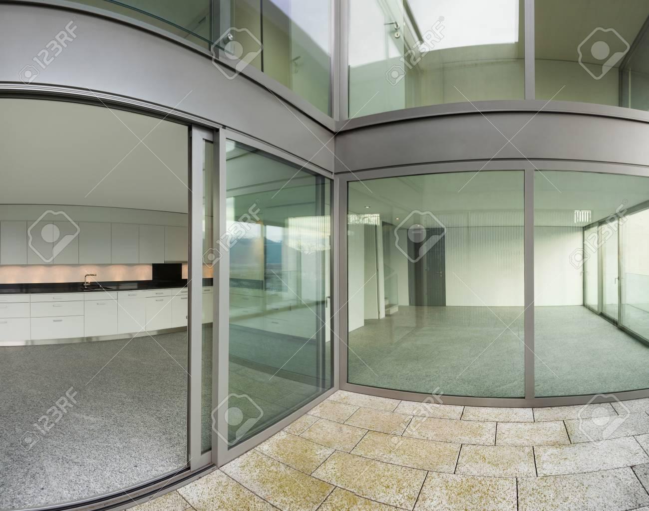 Arquitectura Edificio Moderno Vista Desde La Terraza