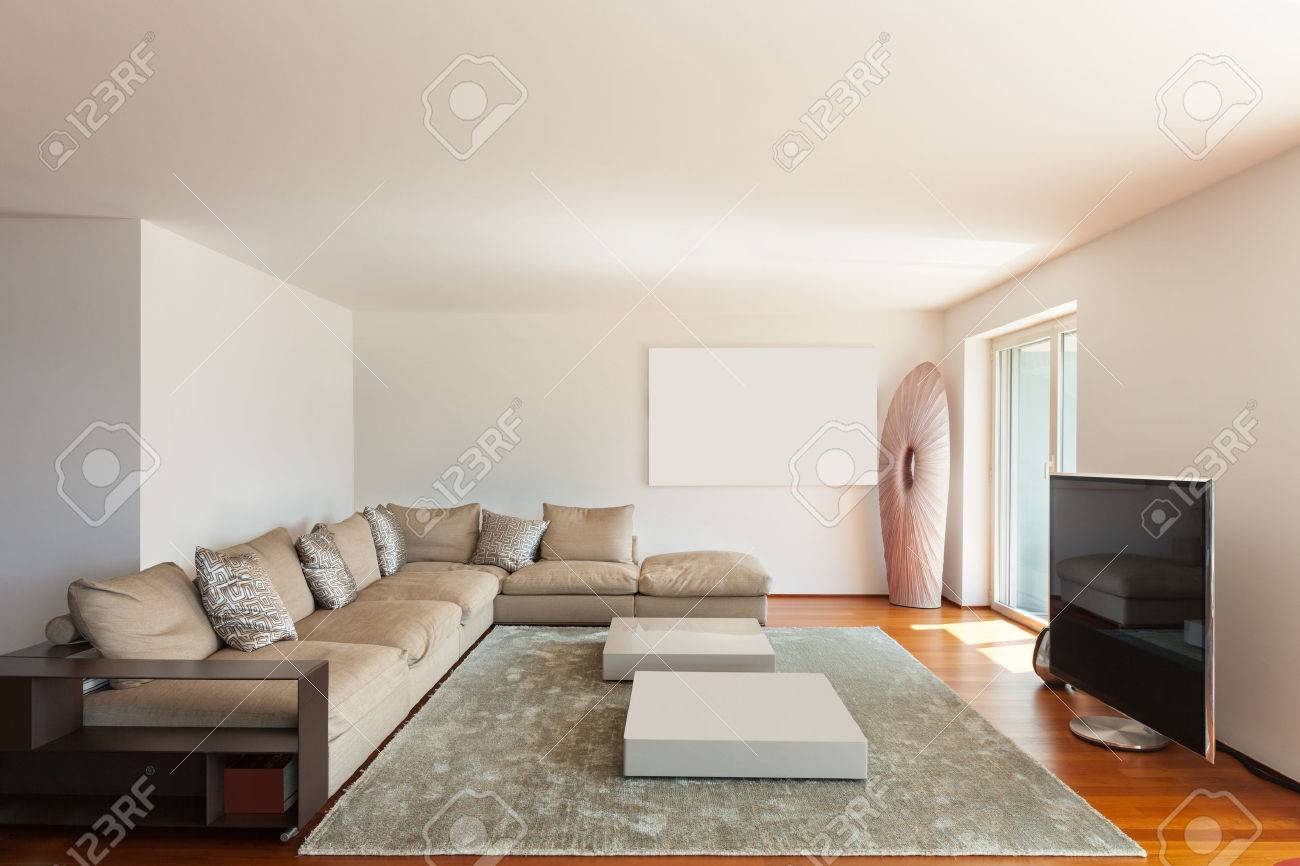 interior of apartment wide living room parquet floor stock photo rh 123rf com parquet flooring living room ideas