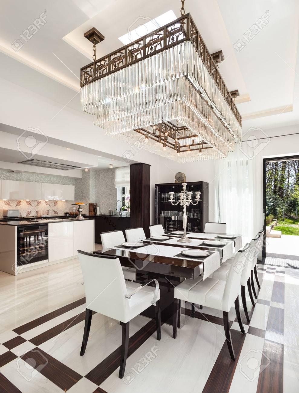 Schöne Esszimmer | Architektur Modernes Haus Ein Schones Interieur Esszimmer