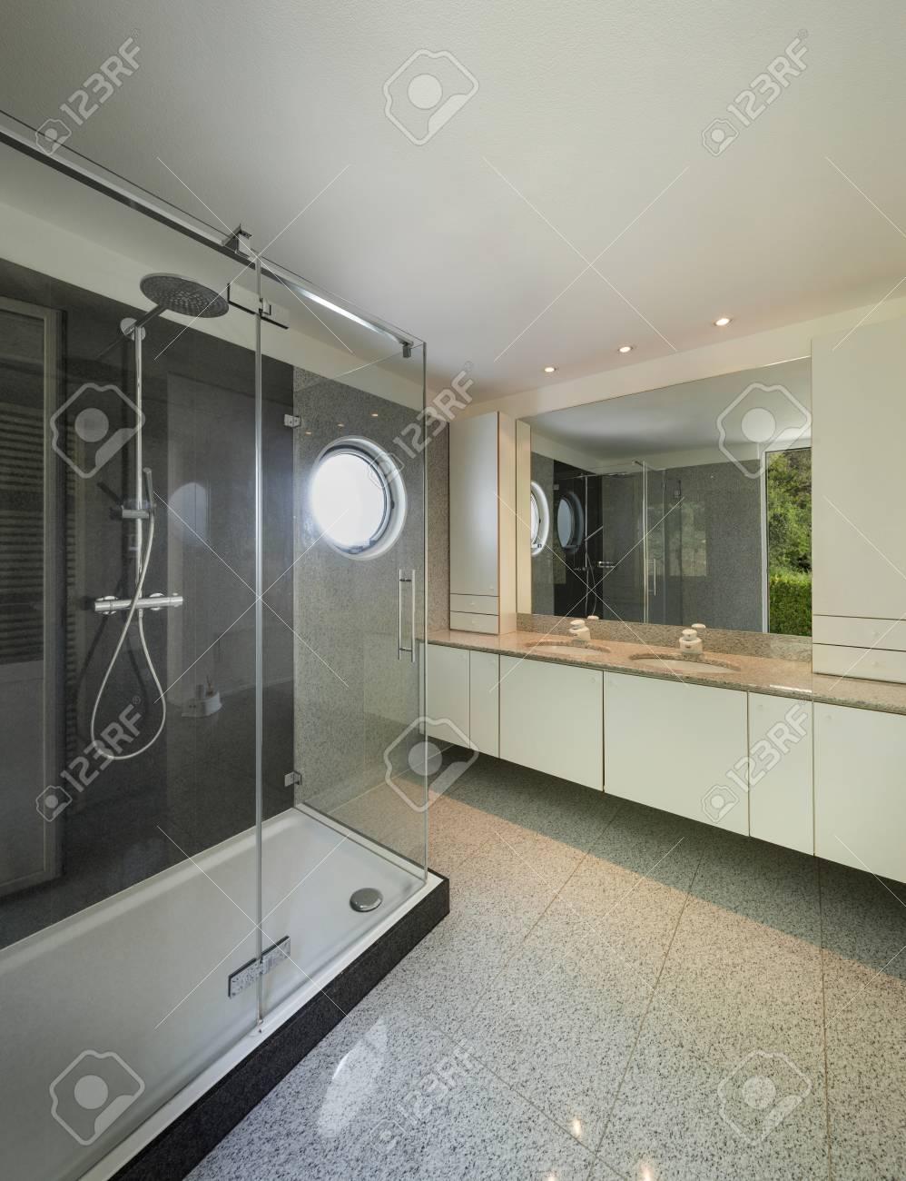 L Architecture De L Interieur D Une Maison Moderne Salle De Bain