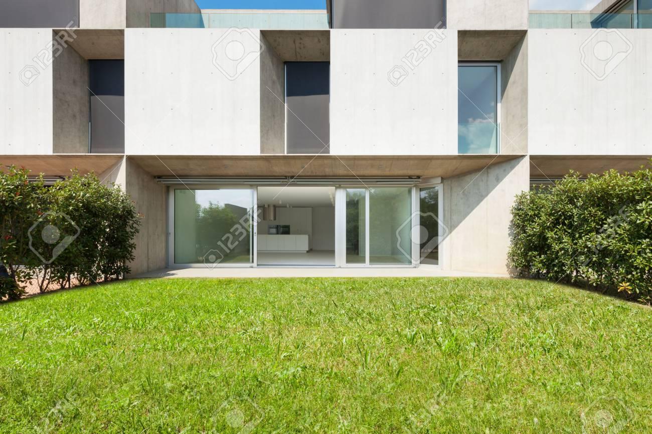 Architecture, Nouveau Design Tendance, Extérieur D\'une Maison ...