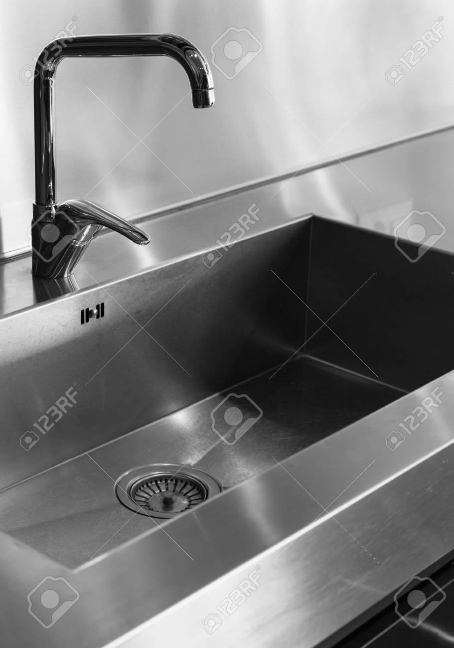 Details Wasserhahn Küche Zu Hause Lizenzfreie Fotos, Bilder Und ...