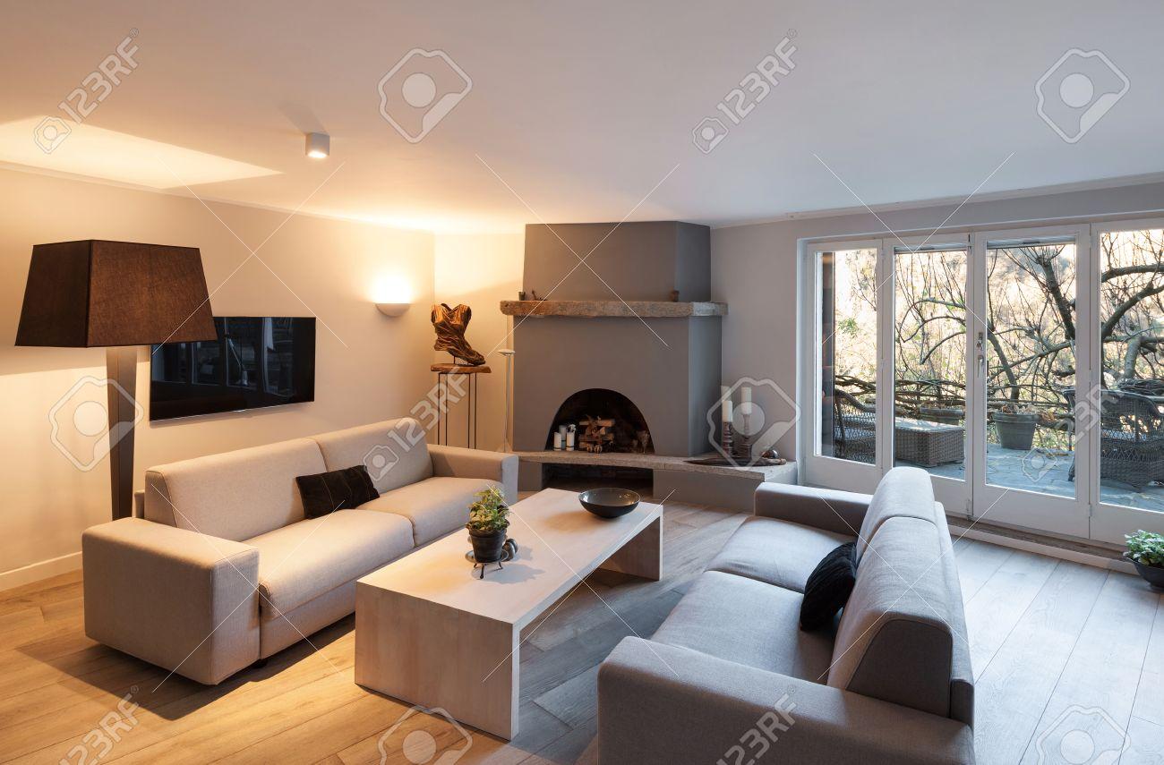 Best Soggiorno Con Camino Gallery - Amazing House Design ...