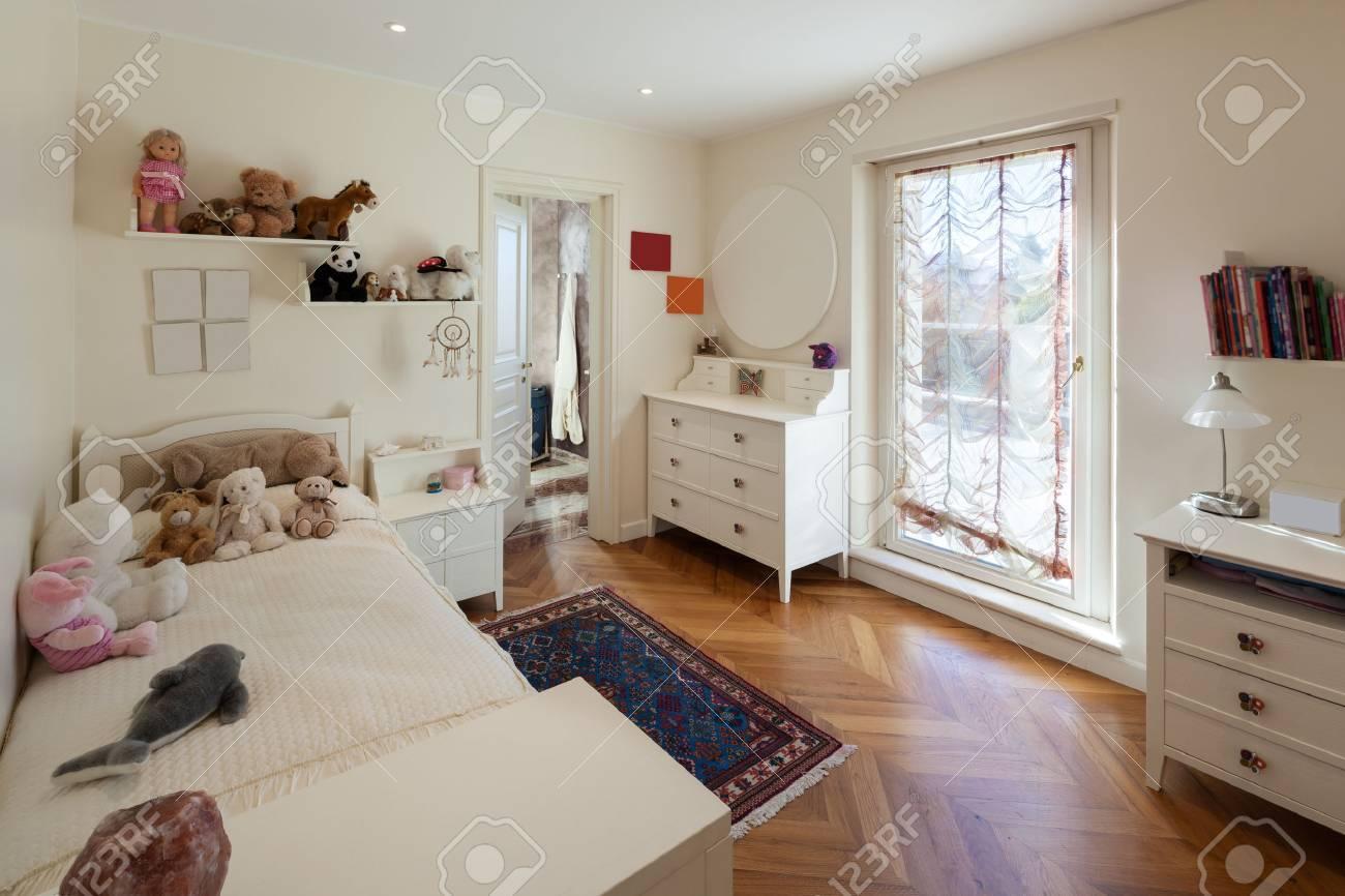 interior of house, comfortable children room - 53299119